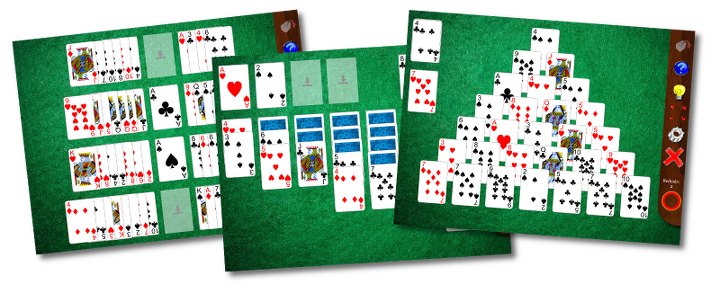Solitaire Whizz: 28 solitaire games ifor iPad