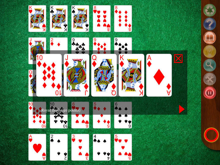 Poker hand ranking images